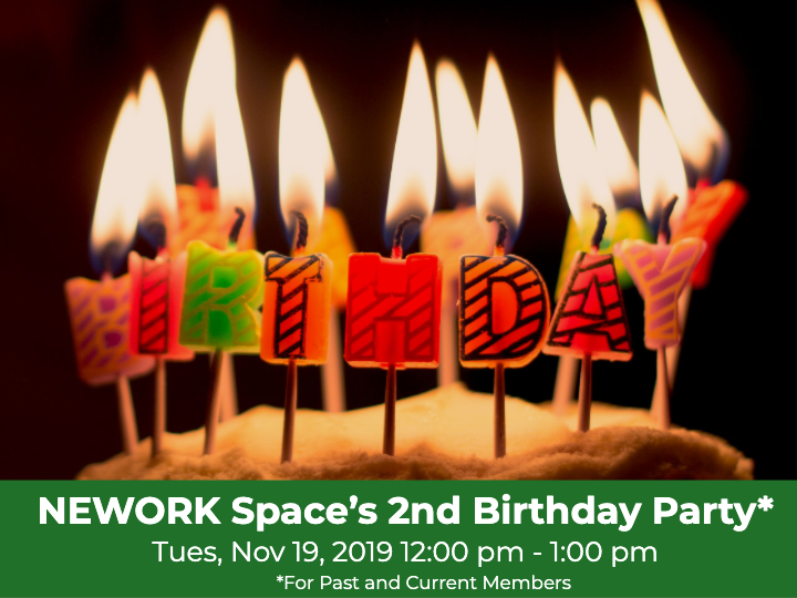 NEWORK Space's 2nd Birthday Party