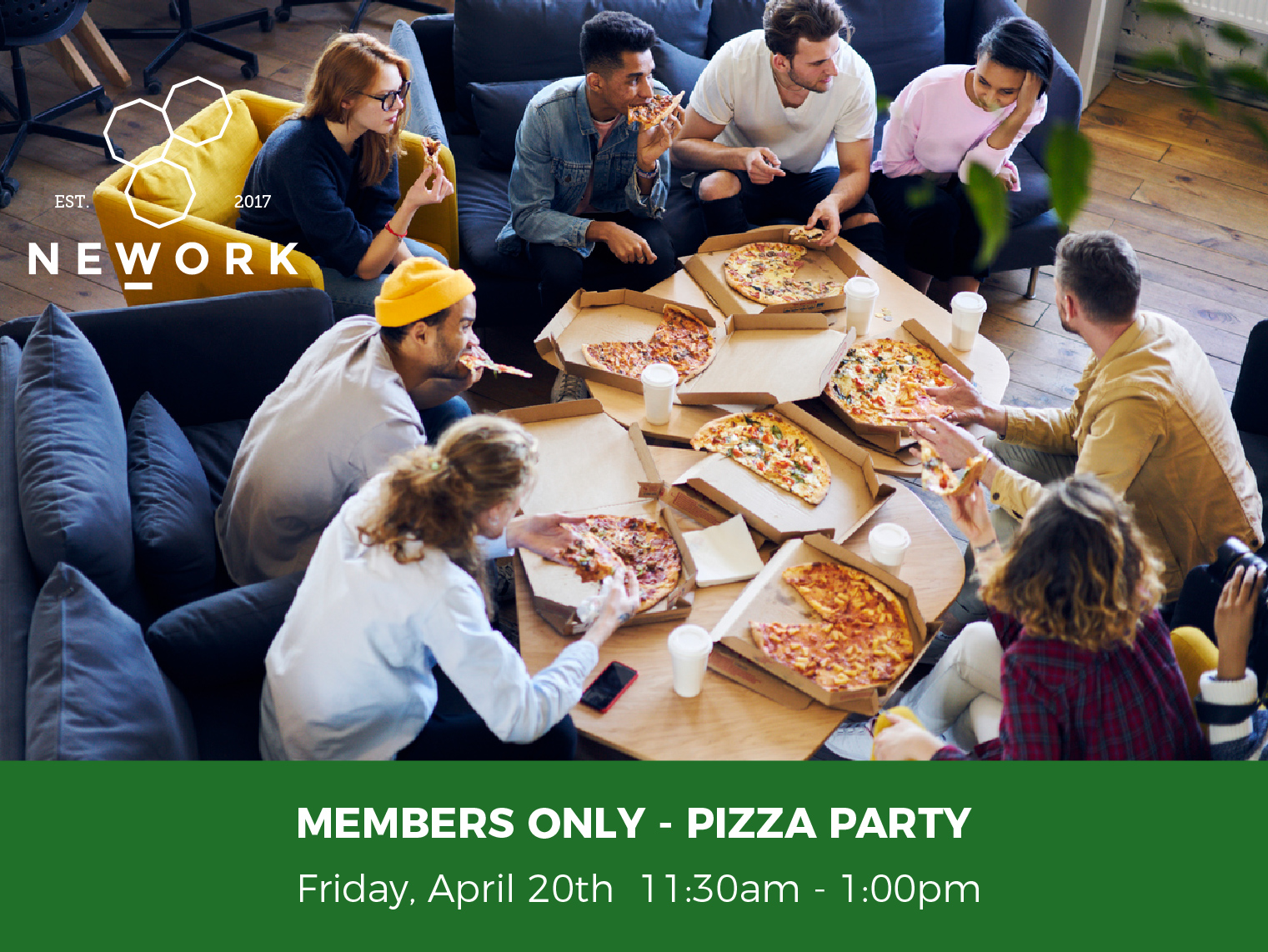 Members Only - Pizza Party